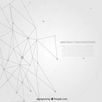 Fond blanc avec un design abstrait