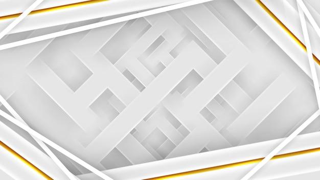 Fond blanc élégant avec des lignes