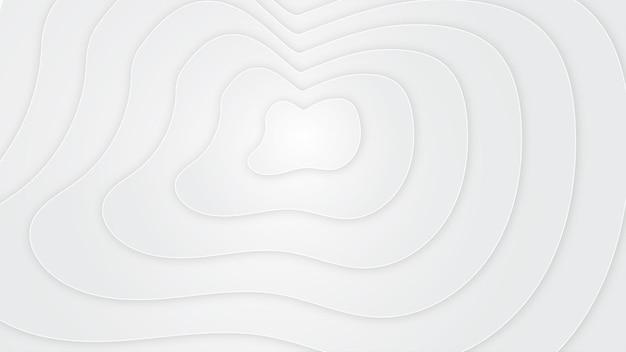 Fond blanc de forme abstraite