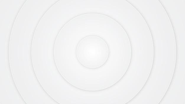 Fond blanc en forme de cercle