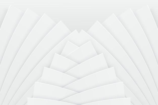 Fond blanc avec des formes dynamiques