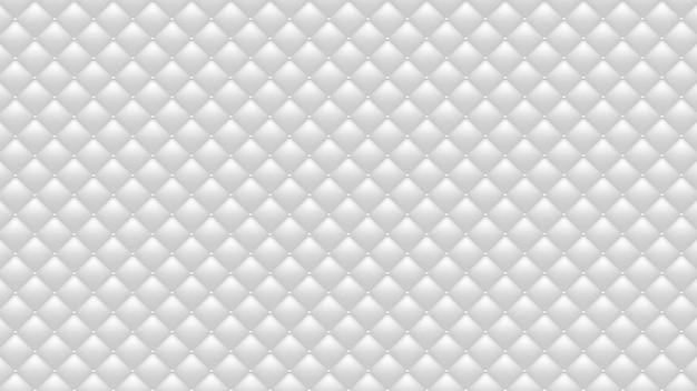 Fond blanc matelassé. fond d'écran large.