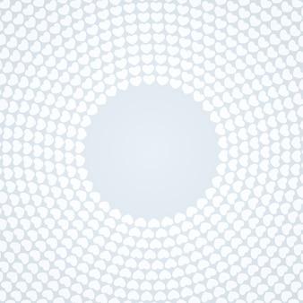 Fond blanc à motifs circulaires