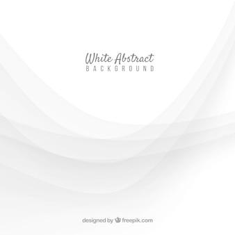 Fond blanc avec style abstrait
