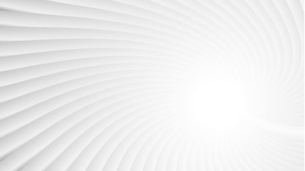 Fond blanc de vagues et de lignes gris