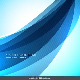 Fond bleu abstrait avec rayures