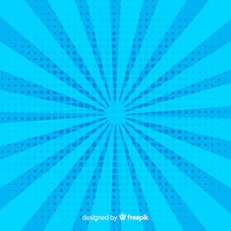 Fond bleu de demi-teintes