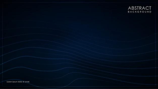 Fond bleu foncé minimaliste