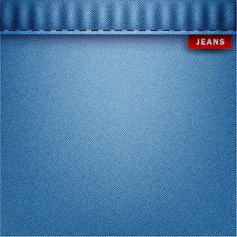 Fond bleu jeans, illustration vectorielle.