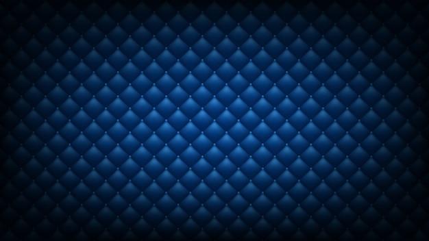 Fond bleu matelassé