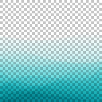Fond bleu de l'onde dégradée