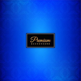 Fond bleu premium de luxe décoratif