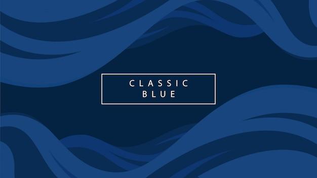 Fond bleu vague abstrait