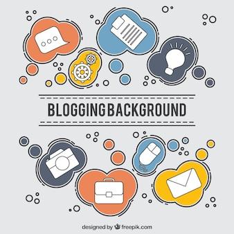 Fond blogging