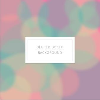 Fond blured avec des couleurs pastel