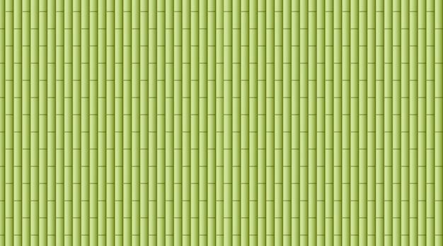 Fond avec des bois de bambou verts