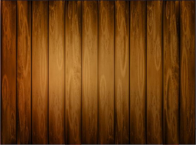 Fond en bois foncé naturel.