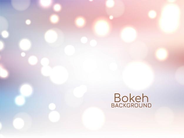 Fond de bokeh doux élégant