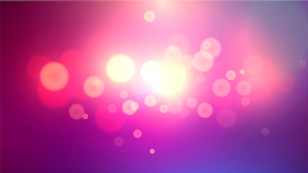 Fond de bokeh effet lumière brillante