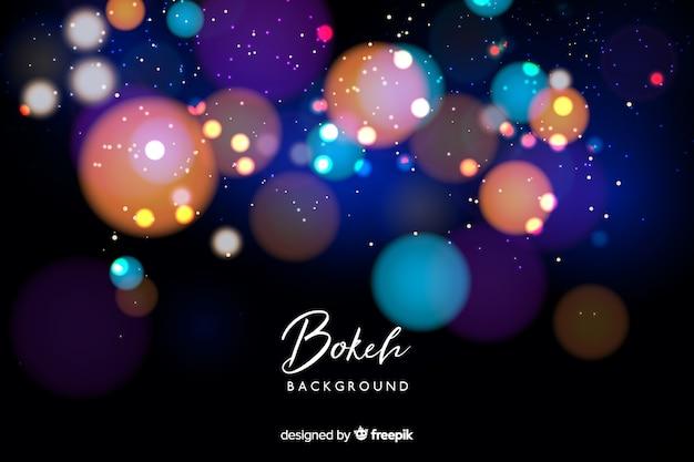 Fond de bokeh lumineux