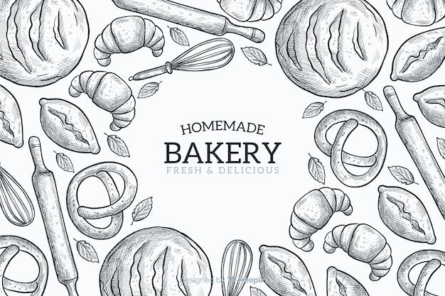 Fond de boulangerie maison