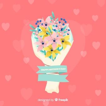 Fond de bouquet de fleurs