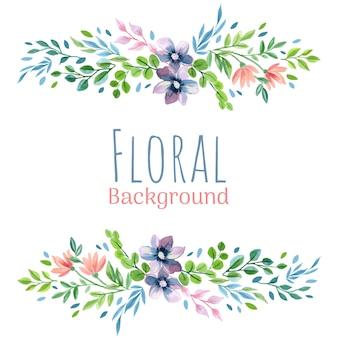 Fond de bouquet floral