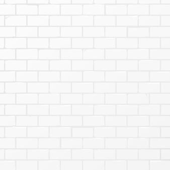 Fond de brique de lumière douce blanche. art vectoriel.