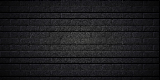Fond de brique noire réaliste dans le fichier eps cc modifiable