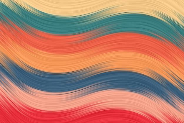 Fond de brosse abstraite avec papier peint à rayures