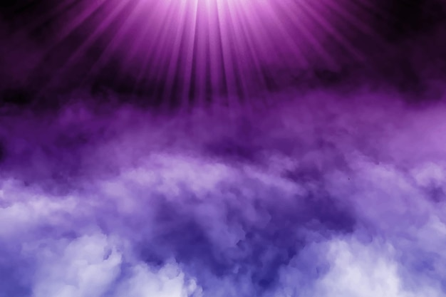 Fond de brouillard dynamique réaliste