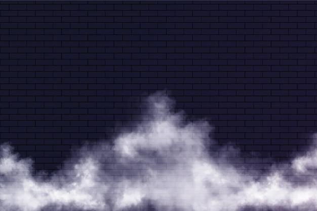 Fond de brouillard réaliste