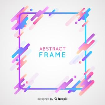 Fond de cadre abstrait