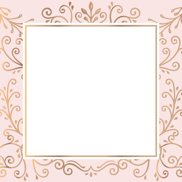 Fond de cadre doré