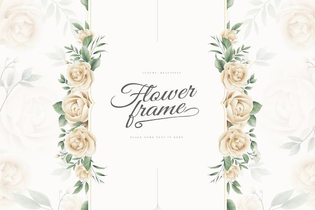 Fond de cadre fleur