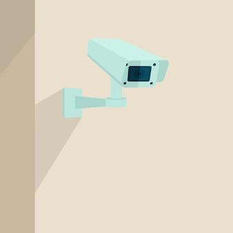 Fond de caméra de sécurité