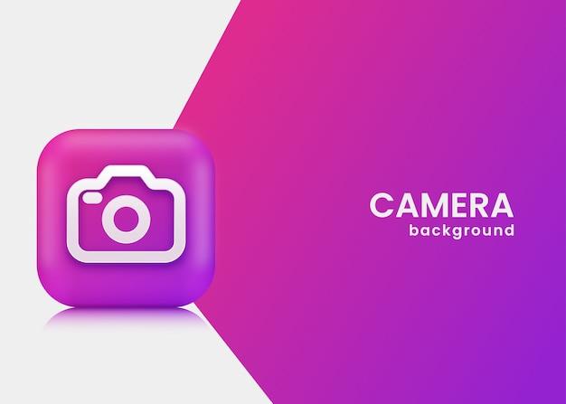 Fond de caméra
