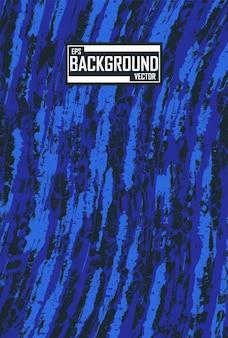 Fond de camouflage bleu