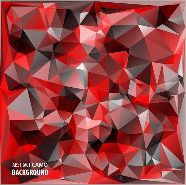 Fond de camouflage militaire abstrait de formes de triangles géométriques camo
