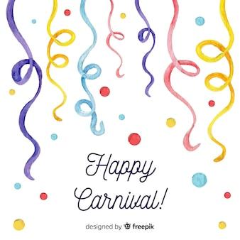 Fond de carnaval heureux