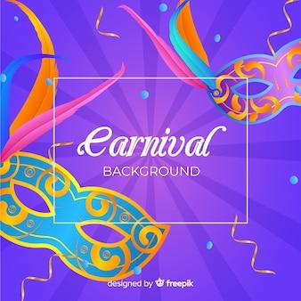 Fond de carnaval réaliste