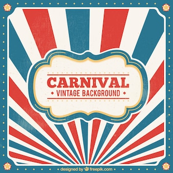 Fond de carnaval vintage