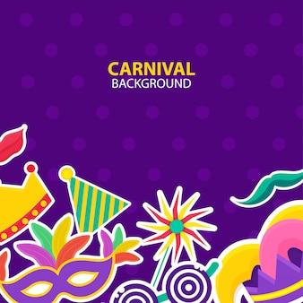 Fond de carnaval