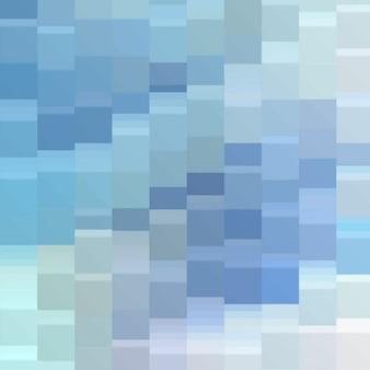 Fond carré bleu abstrait