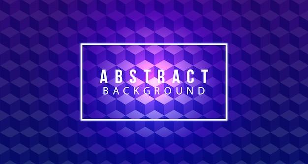 Fond carré violet 3d génial