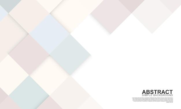 Fond de carreaux rectangle coloré. fond de forme rectangle abstrait. illustration vectorielle.