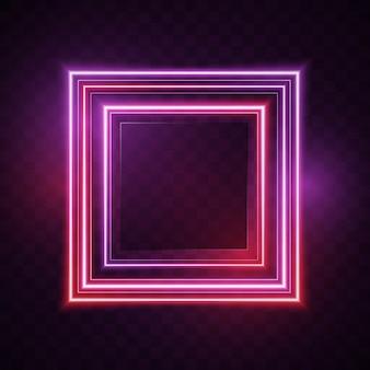 Fond de carrés brillants