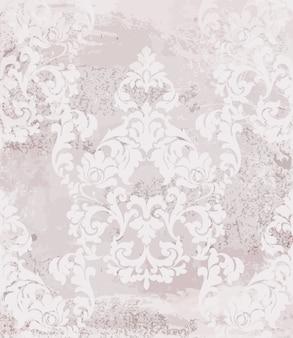 Fond de carte baroque vintage