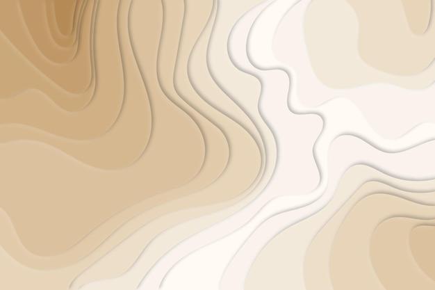 Fond de carte topographique crème