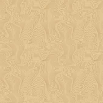 Fond de carte topographique de vecteur, lignes courbes.